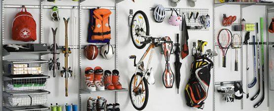 Sports Equipment Storage Hacks