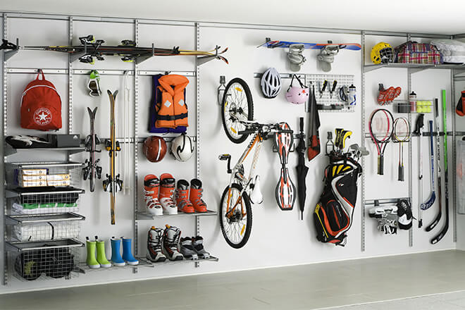 Sports Equipment Storage Hacks