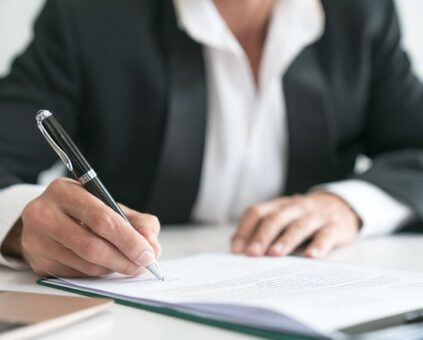 Legal Document Require Signature